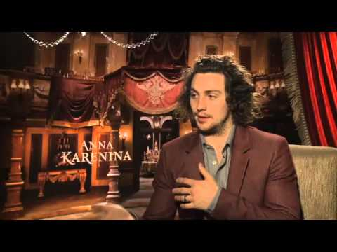 Aaron Taylor-Johnson Talks About &quot;Anna Karenina&quot;