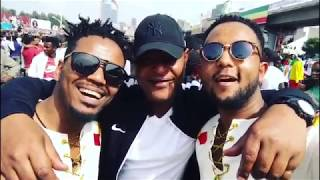 Ethiopia:- Jano Band singing  live from Meskel Square