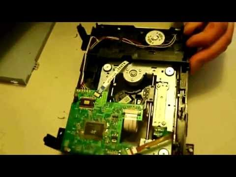 How to replace your Liteon DVD Disc drive worm motor. Xbox 360 FAT repair Tutorial