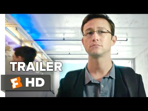 Snowden Official Comic-Con Trailer (2016) - Joseph Gordon-Levitt Movie