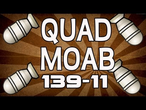 First Quad MOAB! 139-11 (MUST WATCH)