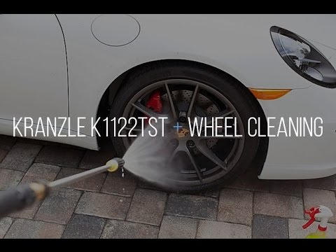 MTM Foam Cannon. Kranzle Pressure Washer. Wheel Cleaning Demo