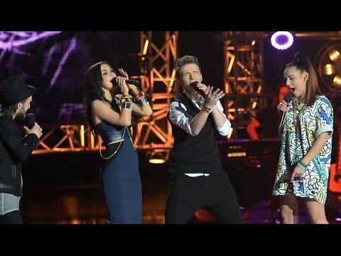 """The Voice of Poland IV - Tomson i Baron z drużyną - """"Bo jak nie my, to kto"""" - Live I"""