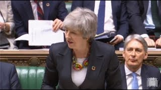 LIVE - Prime Minister Theresa May makes a statement to MPs about Brexit negotiations