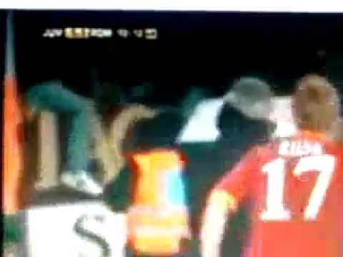 riise gol incredibile vs juve! zampa!