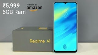 Realme A1 - 41 MP Camera, 5G, Android 9.0 Pie, Price And Specs