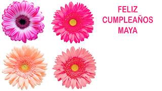 Maya   Flowers & Flores - Happy Birthday
