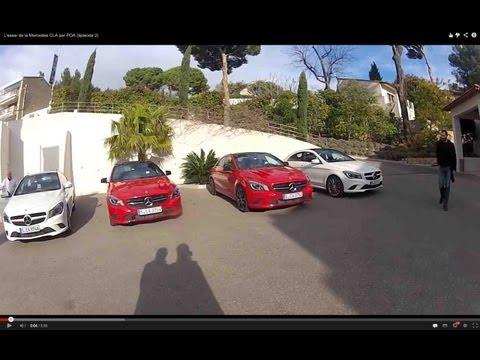 Mercedes CLA : impressions de conduite