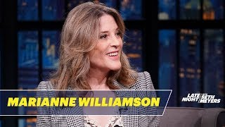 Marianne Williamson on Humor, Morality and Beating Trump in 2020