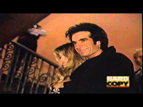 Claudia Schiffer and David Copperfield 1994