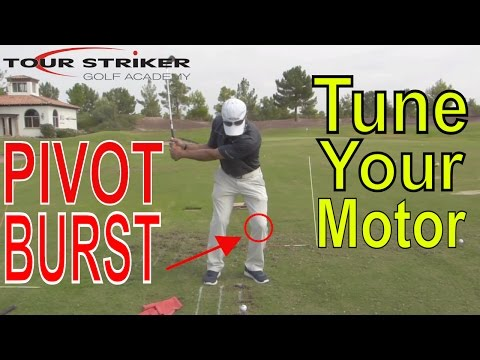 Tour Striker Drill - Compression Into The Left Leg -