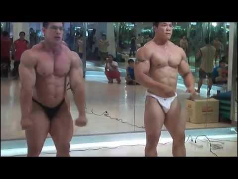 Thailand bodybuilding Team 2011