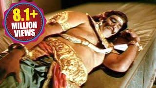 Sampoorna Ramayanam Scenes  Kumbhakarna In A Deep
