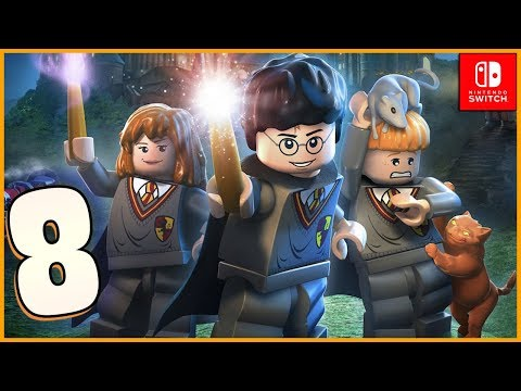Lego Harry Potter Collection HD Walkthrough Part 8 Crabbe and Goyle (Nintendo Switch)