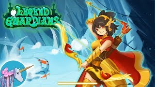 Legend Guardians – Mighty Heroes: Action RPG gameplay