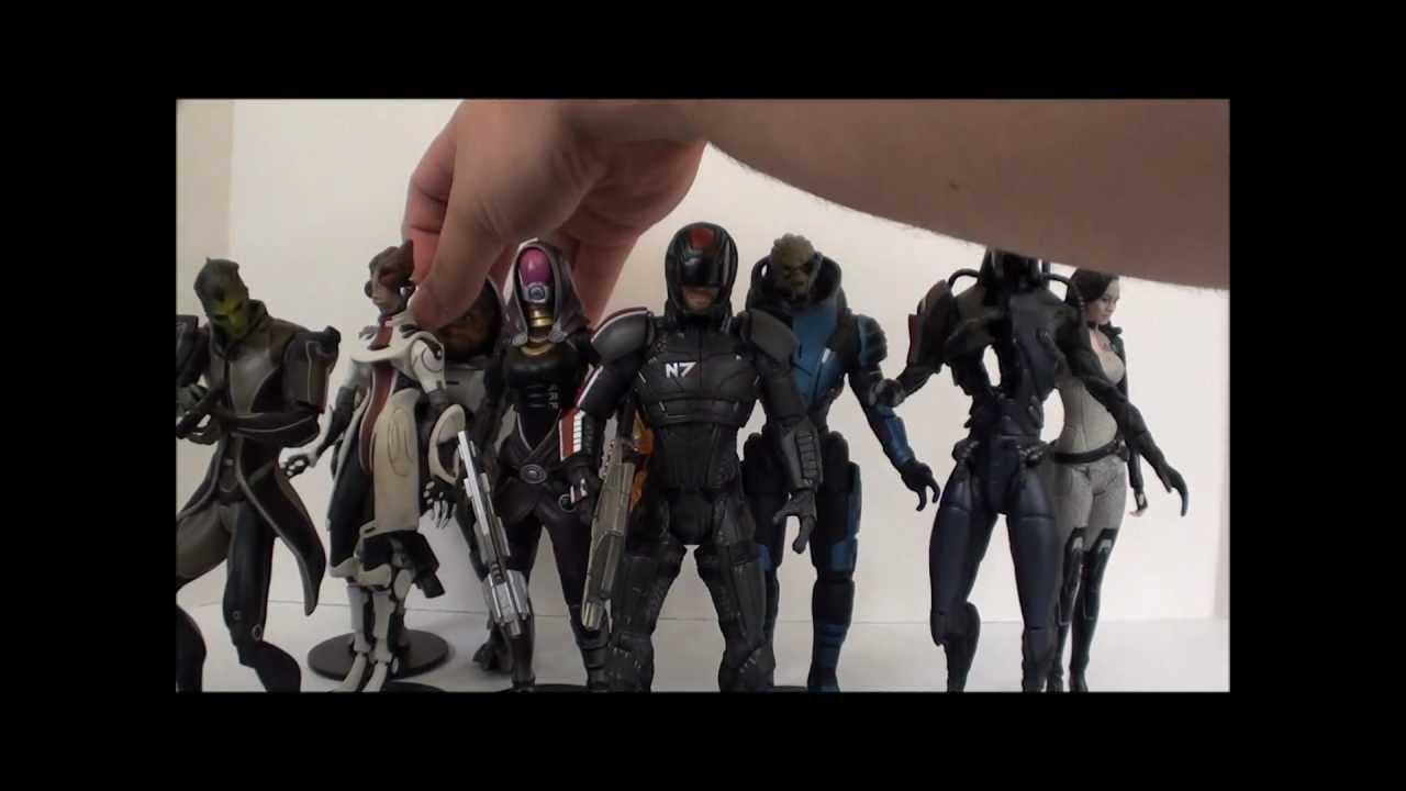 Mass Effect Figures Review T2rx6 Reviews Mass Effect