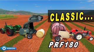Faming Simulator 17: Classic PRF180 Baler.. Deutz-Fahr and Ursus Tractors...