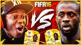 FIFA 16 | YAYA TOURE VS KSI
