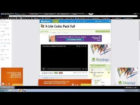 Descargar K-Lite Mega Codec Pack 2014