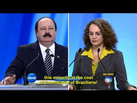 Brazilian candidates homophobic rant on presidential election...