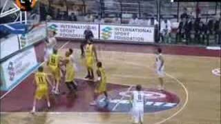 Omer Asik against Aris, Euroleague 07-08