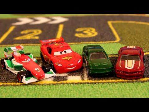 Тачки против Хот Вилс Дрифт|Мультики про машинки для детей|Cars vs Hot Wheels