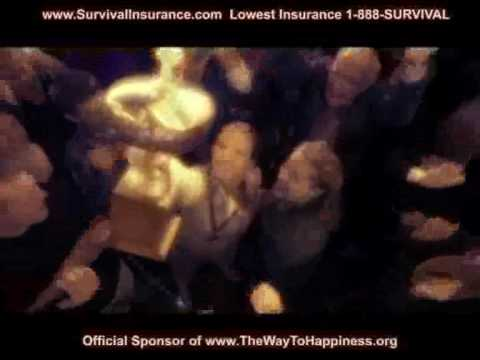2010 Superbowl happiness Survival Auto Insurance Comparison