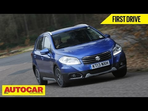 2014 Suzuki S-Cross Crossover   First Drive Video Review   Autocar India