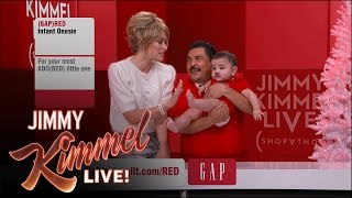 The Jimmy Kimmel Live (RED) SHOPATHON with Olivia Wilde Part 2