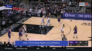 JJ RW Curl vs Spurs