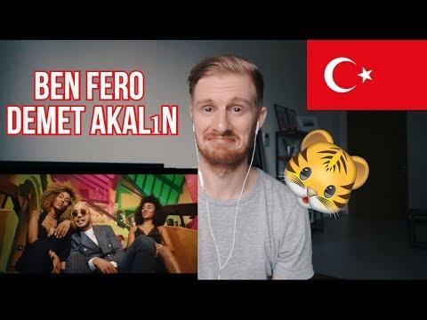 Ben Fero - Demet Akalın [Official Video] // TURKISH RAP REACTION