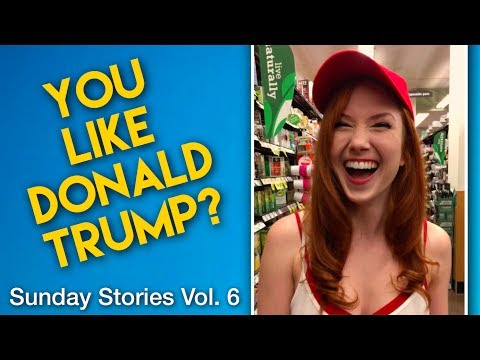 THOUGHTS ON DONALD TRUMP? (vlog: Sunday Stories Vol. 6)