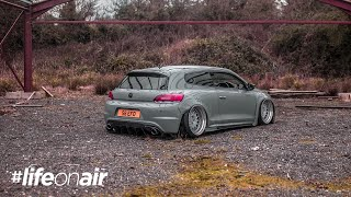 VW Scirocco on Air Suspension - #LifeOnAir