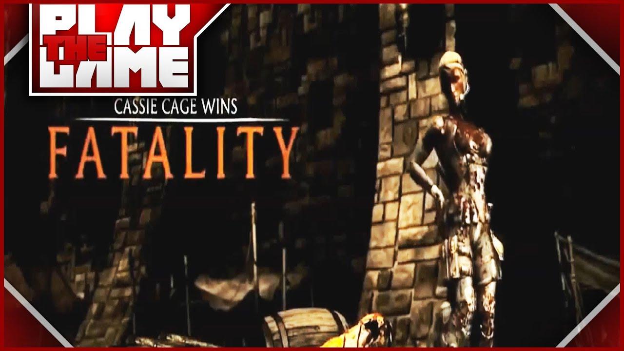 Mortal Kombat X Predator Fatalities + Brutalities - YouTube