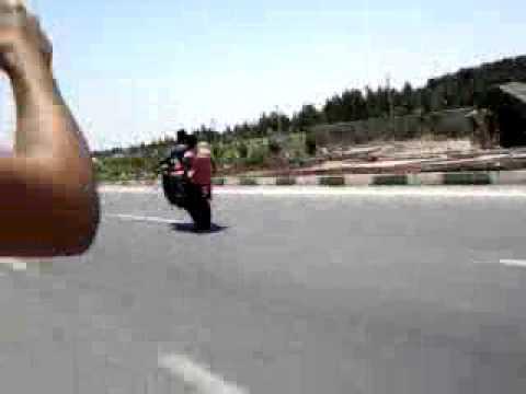 تصادف موتور سنگین در شیراز صدای اگزوز موتور سنگین