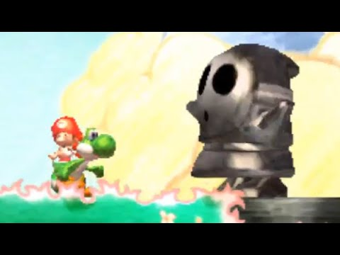 Yoshi's New Island (3DS) - Walkthrough Part 2 - World 2