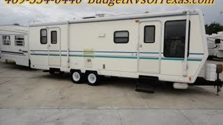 32ft Travel Eze Travel Trailer That Is Ideal For Long Term Living