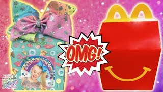 JoJo Siwa Videos JoJo McDonalds Happy Meal Toy JoJo Bows + Squishy YouTube Kids