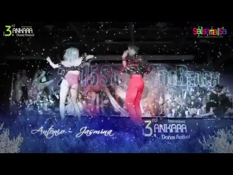 Antonio & Jasmina Berardi Dance Performance | AIDC-2015