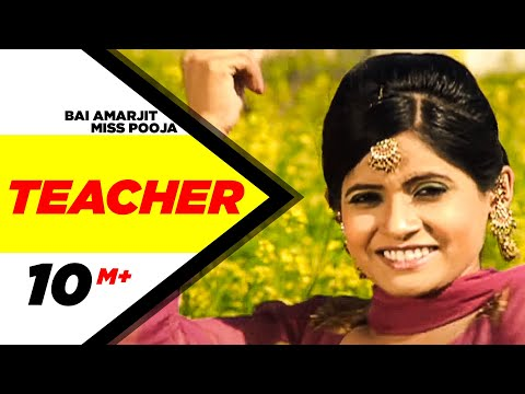 Bai Amarjit Miss Pooja Teacher | Punjabi Songs | Speed Records video