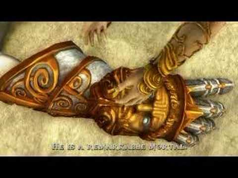 God of War:Chains of Olympus - final cut scene