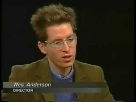 Wes Anderson on Charlie Rose - Part 1