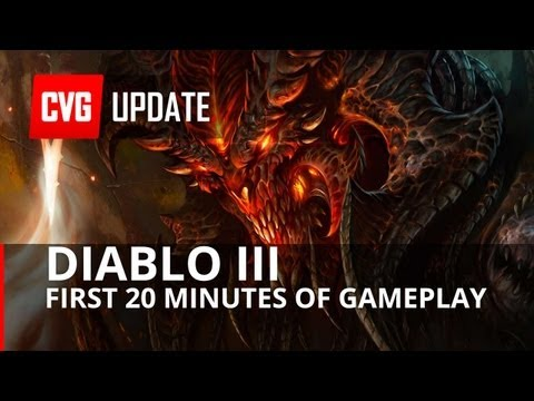 Diablo III First 20 minutes of gameplay