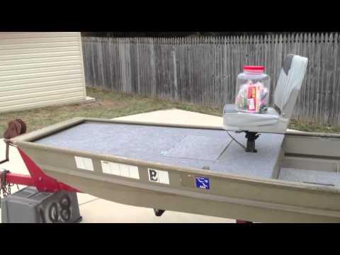 Jon Boat Deck Builds