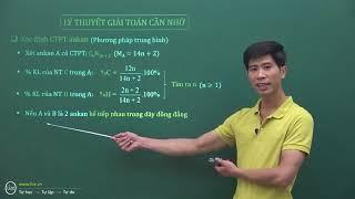 Lý thuyết giải toán + bài tập chi tiết về ANKAN cực hay - Thầy Phạm Thắng
