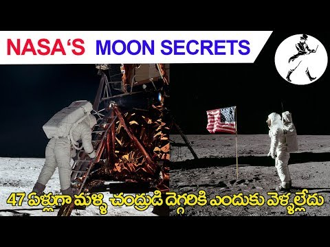 Why Nasa never returned to moon again | NASA MOON MYSTERY| In Telugu |