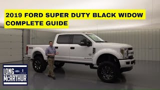 2019 FORD SUPER DUTY BLACK WIDOW PACKAGE COMPLETE GUIDE