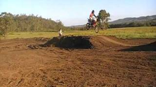 Australia Day Race Honda CRF450R VS CRF150R