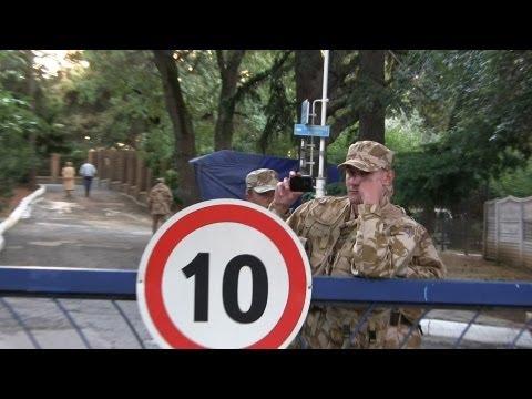 Донецкий нардеп-«регионал» отобрал у людей парк и дорогу!