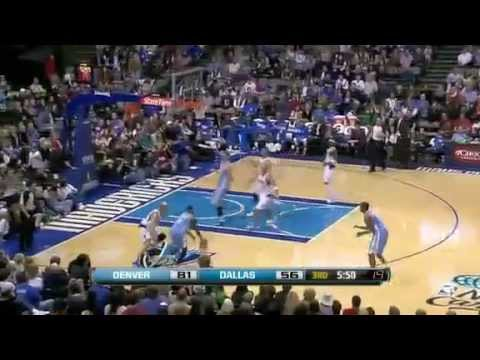 NBA Highlights - Denver Nuggets vs Dallas Mavericks (12/26/11)